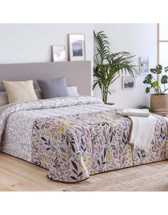 Colcha Bouti Roses Beige