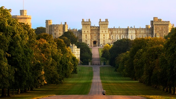 Castillo Windsor de Inglaterra