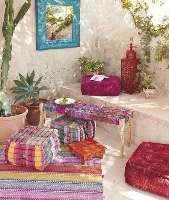 chill out estilo boho y bohemio